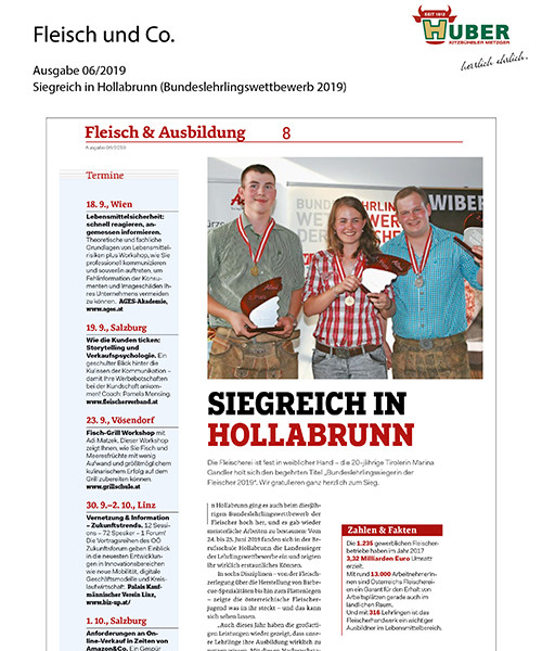 Fleisch & Co KW27/2019